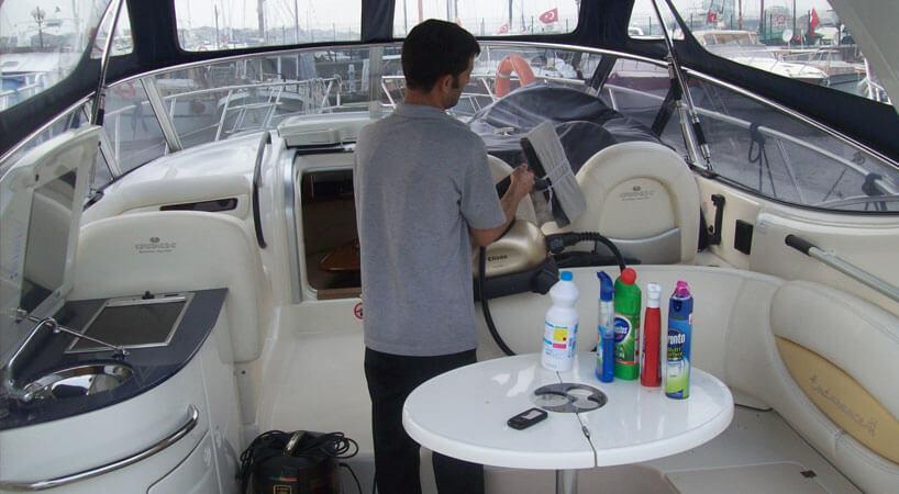 Gemi Yat Temizliği